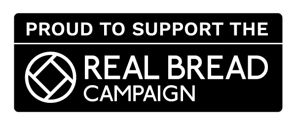 proud to support the real bread campaign logo